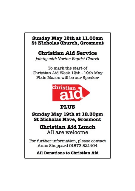 Christian Aid Poster 2019