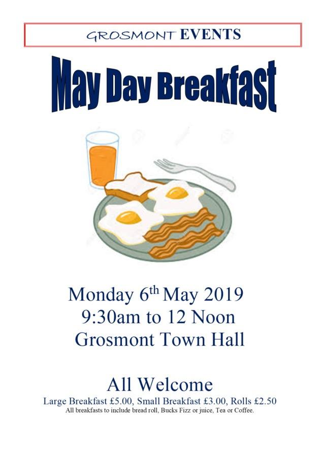 MayDay breakfast