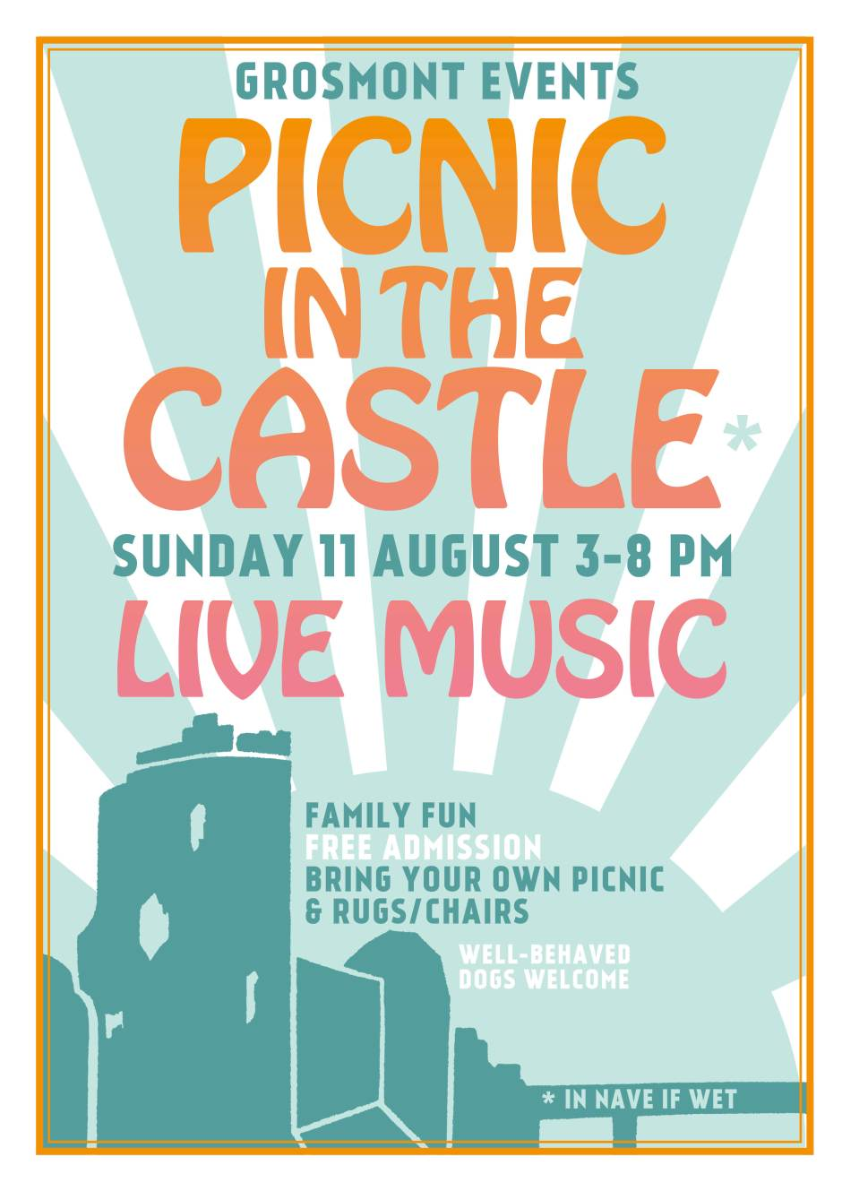 Music in the Castle Poster