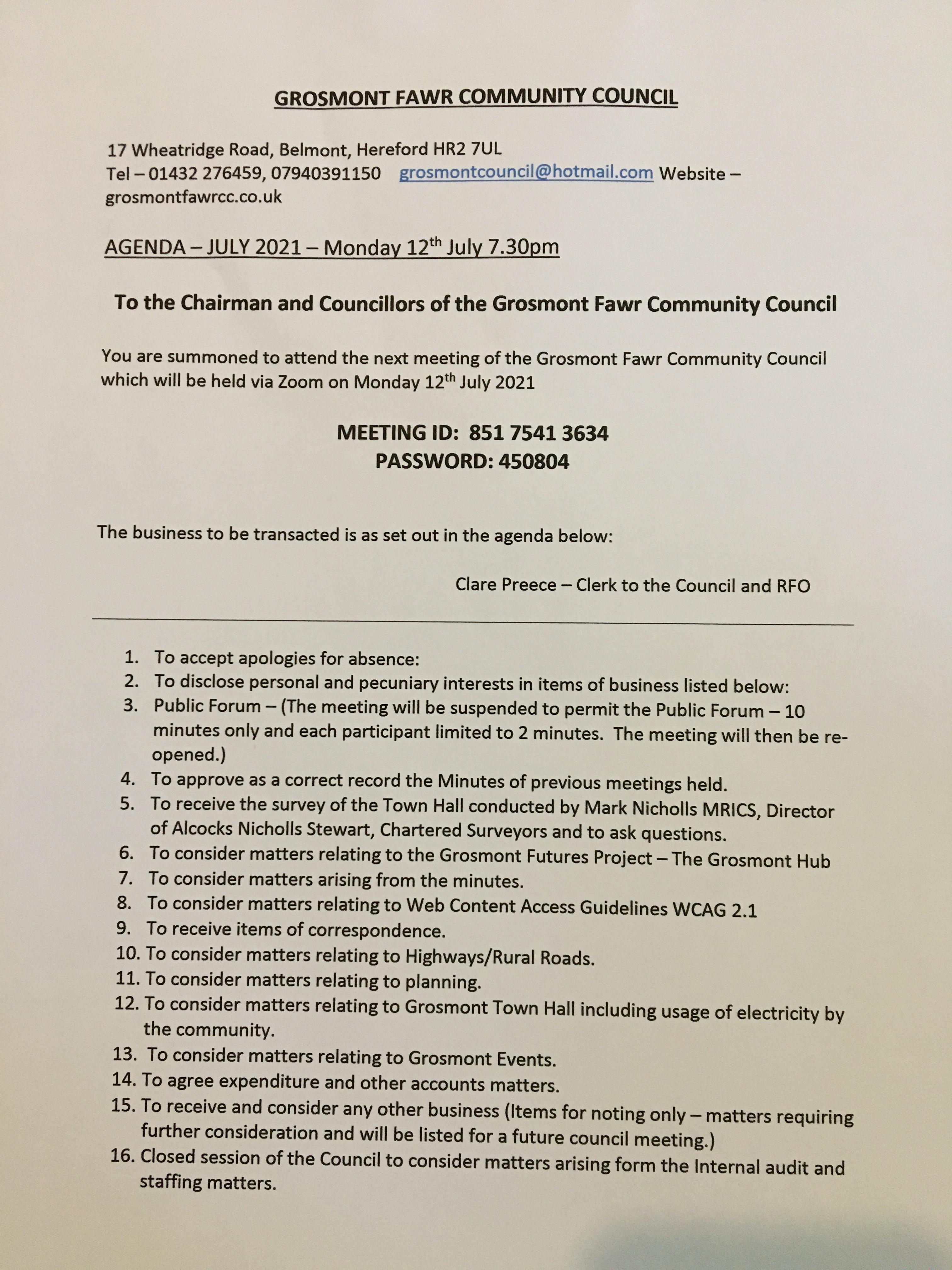 Agenda 12 July 2021.docx